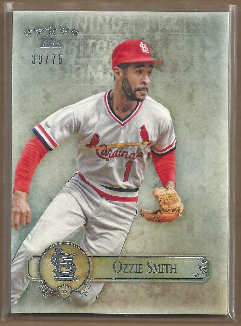 2013 Topps Five Star #16 Ozzie Smith