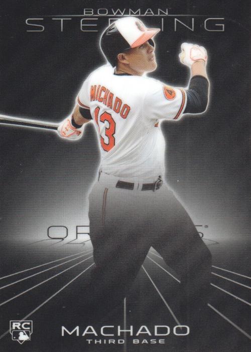 2013 Bowman Sterling #10 Manny Machado RC
