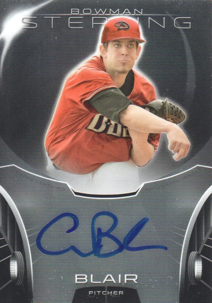 2013 Bowman Sterling Prospect Autographs #ABL Aaron Blair