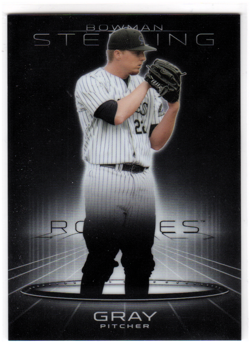 2013 Bowman Sterling Prospects #50 Jonathan Gray
