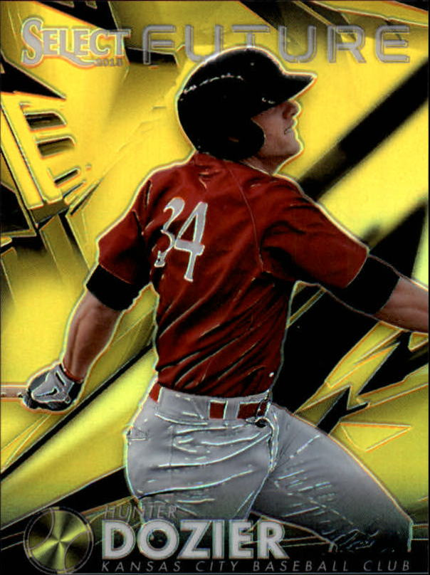 2013 Select Select Future Prizm Gold #8 Hunter Dozier