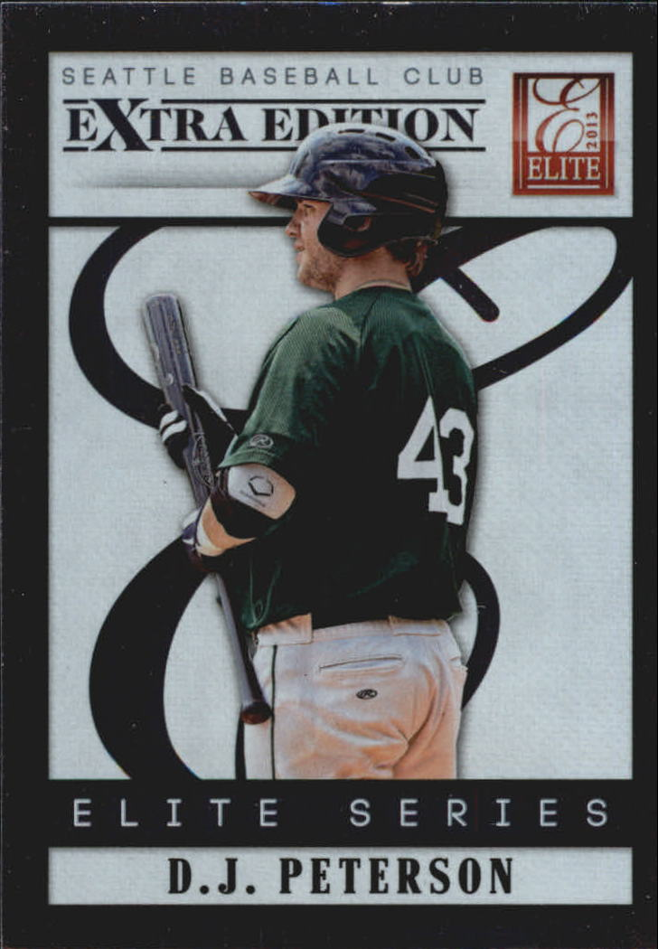 2013 Elite Extra Edition Elite Series #10 D.J. Peterson
