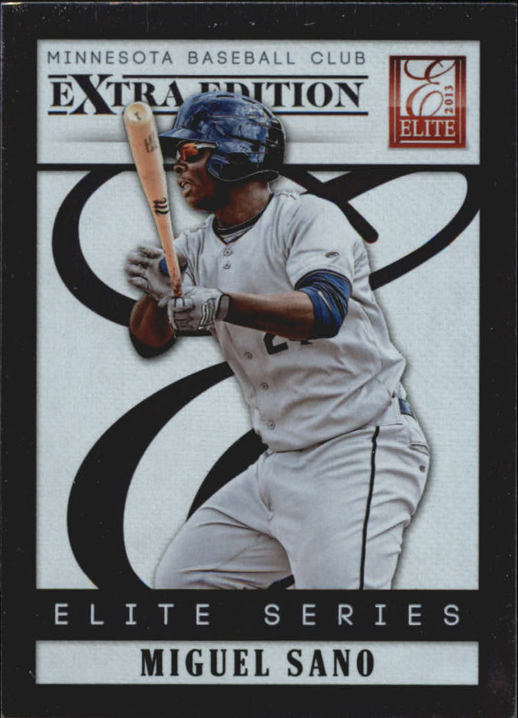 2013 Elite Extra Edition Elite Series #13 Miguel Sano