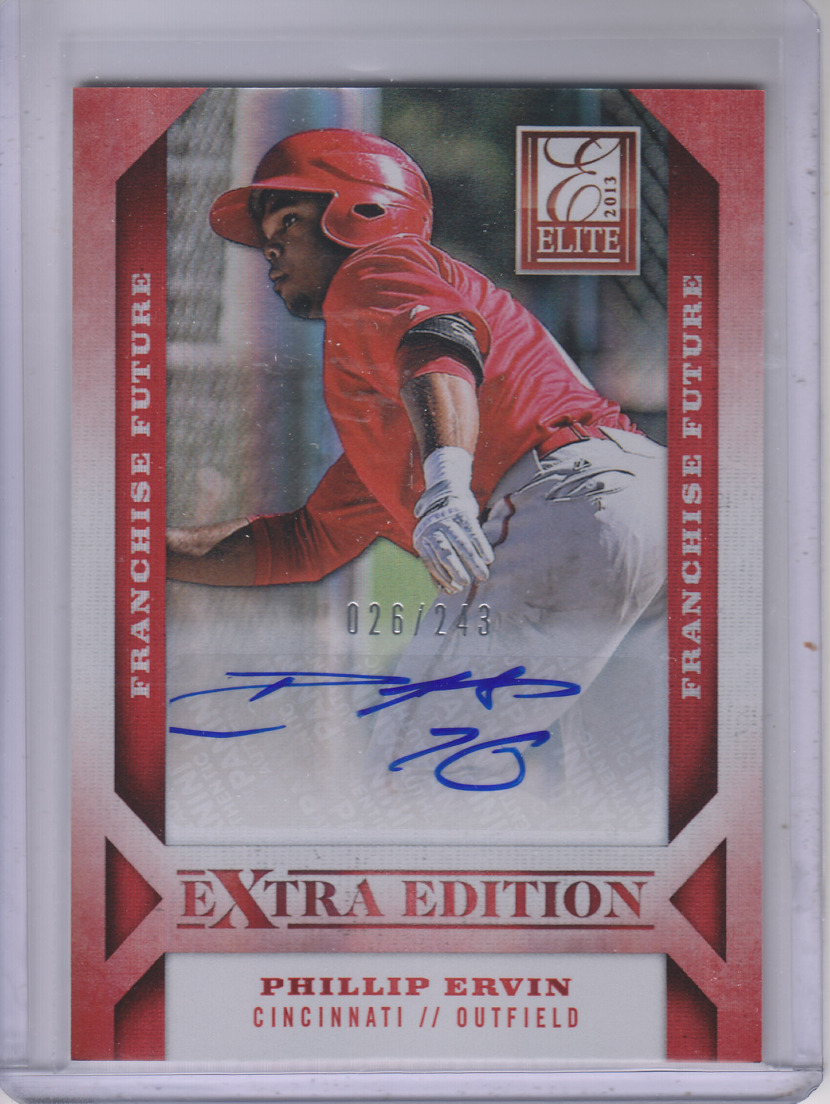 2013 Elite Extra Edition Franchise Futures Signatures #8 Phillip Ervin/243