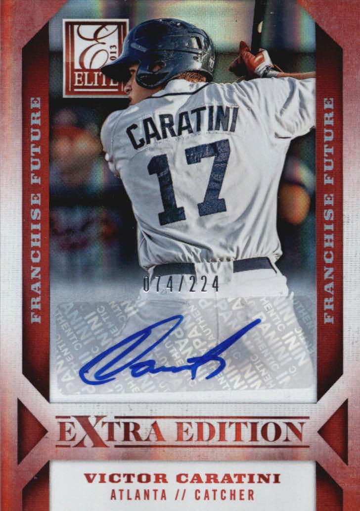 2013 Elite Extra Edition Franchise Futures Signatures #21 Victor Caratini/224