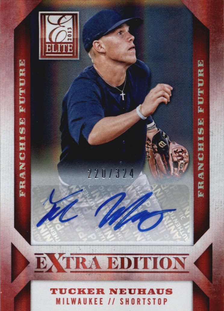 2013 Elite Extra Edition Franchise Futures Signatures #25 Tucker Neuhaus/324