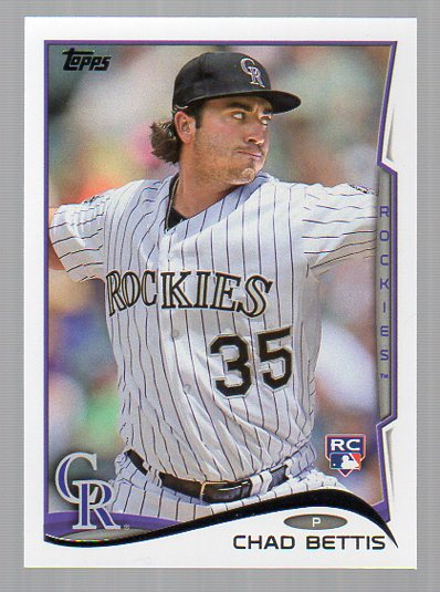 2014 Topps #290 Chad Bettis RC