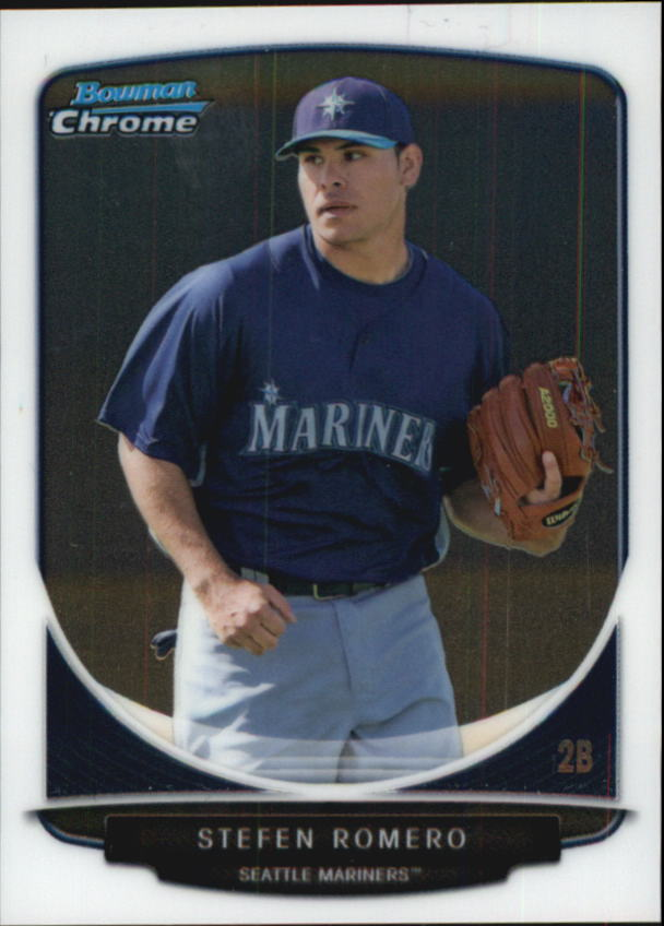 2013 Bowman Chrome Mini #2 Stefen Romero