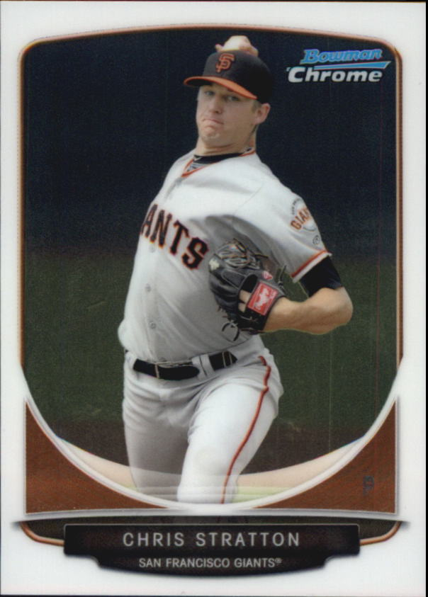2013 Bowman Chrome Mini #23 Chris Stratton