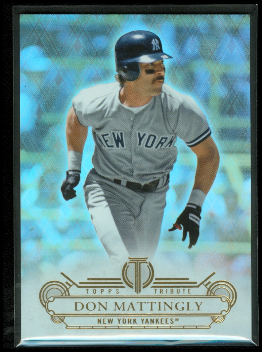 2014 Topps Tribute #16 Don Mattingly