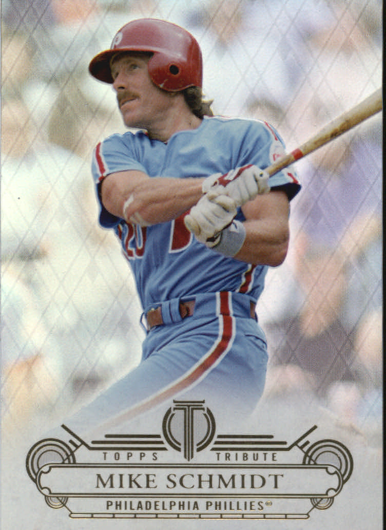2014 Topps Tribute #18 Mike Schmidt