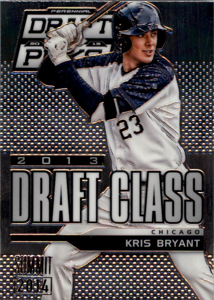 2013 Panini Prizm Perennial Draft Picks Industry Summit #102 Kris Bryant