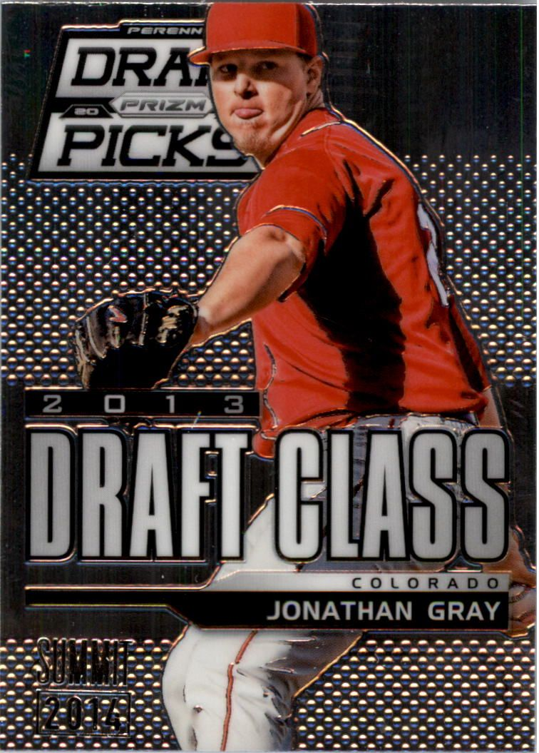 2013 Panini Prizm Perennial Draft Picks Industry Summit #103 Jonathan Gray
