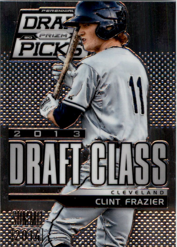 2013 Panini Prizm Perennial Draft Picks Industry Summit #105 Clint Frazier