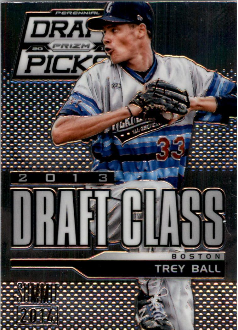 2013 Panini Prizm Perennial Draft Picks Industry Summit #107 Trey Ball
