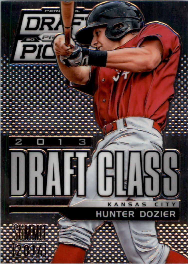 2013 Panini Prizm Perennial Draft Picks Industry Summit #108 Hunter Dozier