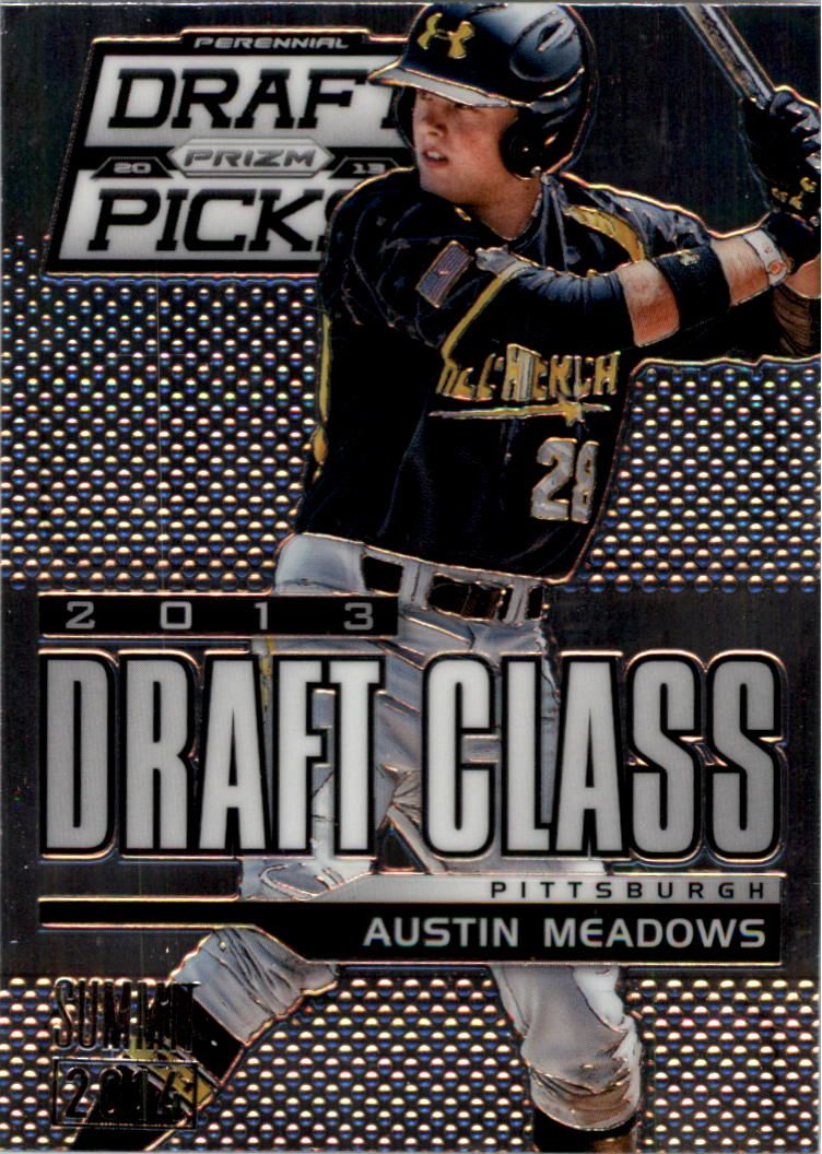 2013 Panini Prizm Perennial Draft Picks Industry Summit #109 Austin Meadows