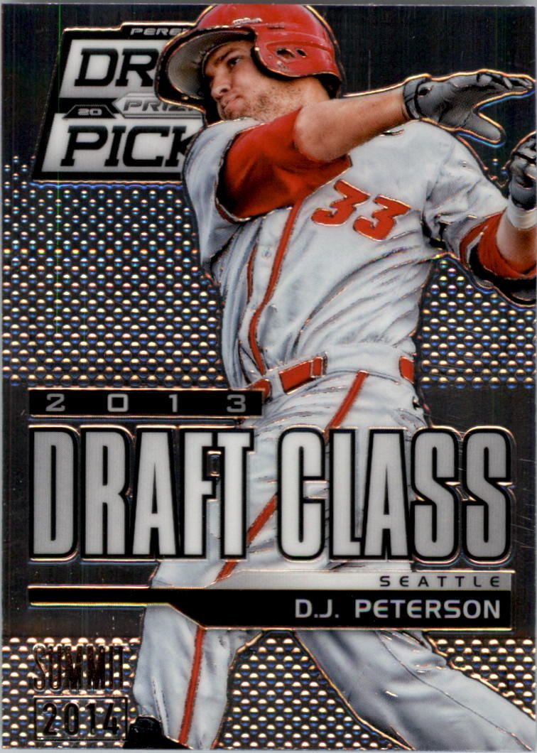 2013 Panini Prizm Perennial Draft Picks Industry Summit #112 D.J. Peterson