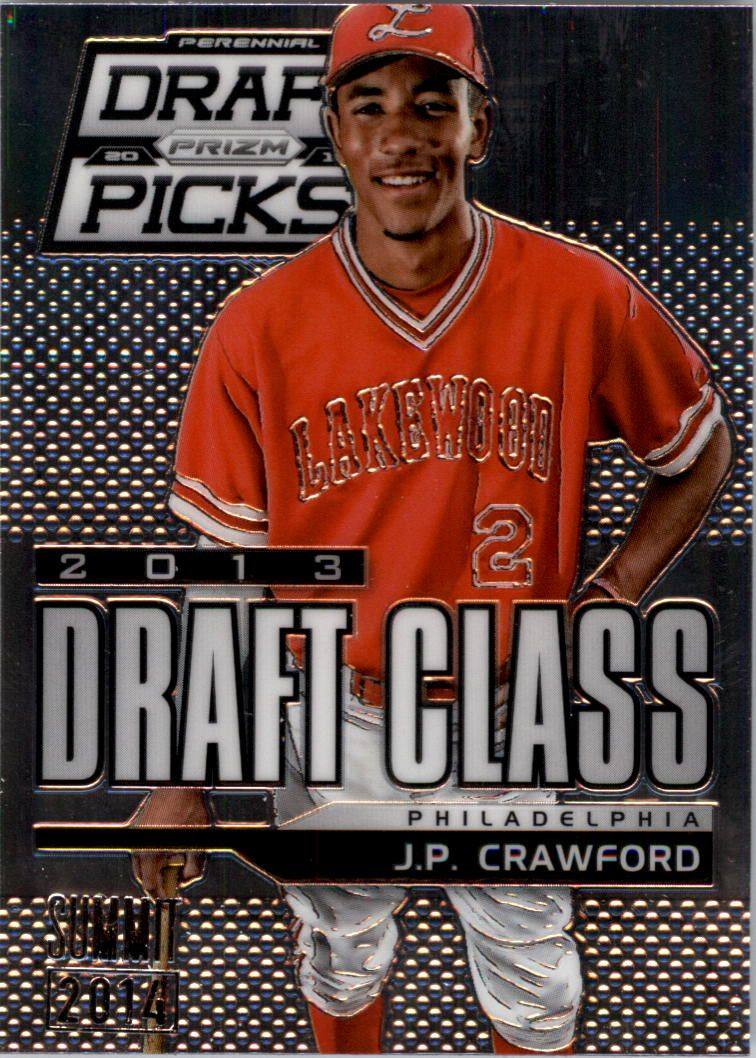 2013 Panini Prizm Perennial Draft Picks Industry Summit #116 J.P. Crawford
