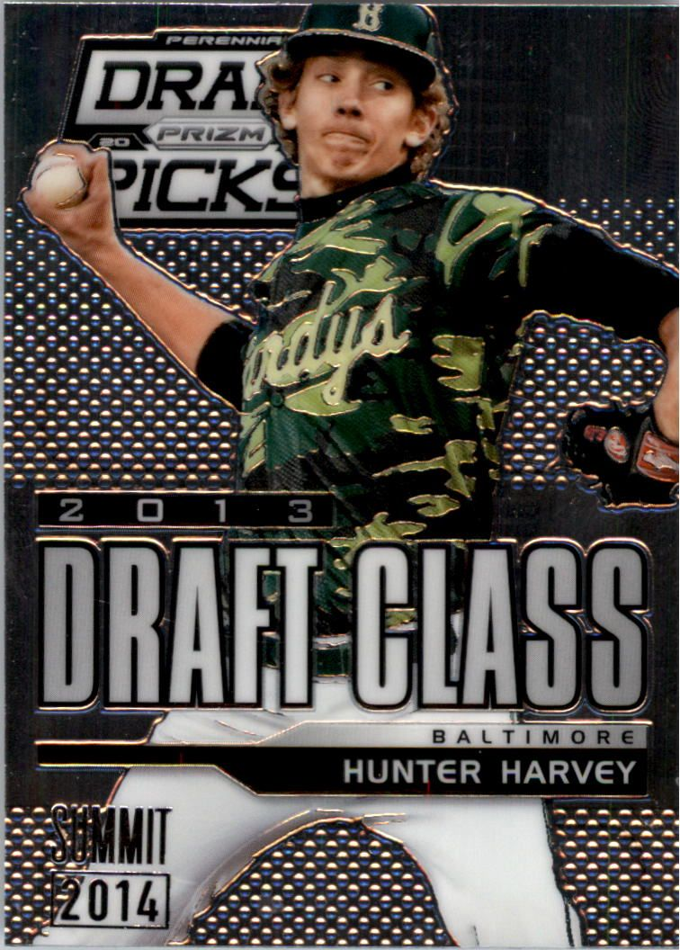 2013 Panini Prizm Perennial Draft Picks Industry Summit #122 Hunter Harvey