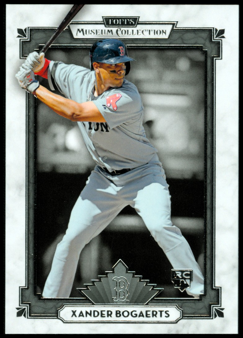 2014 Topps Museum Collection #9 Xander Bogaerts RC