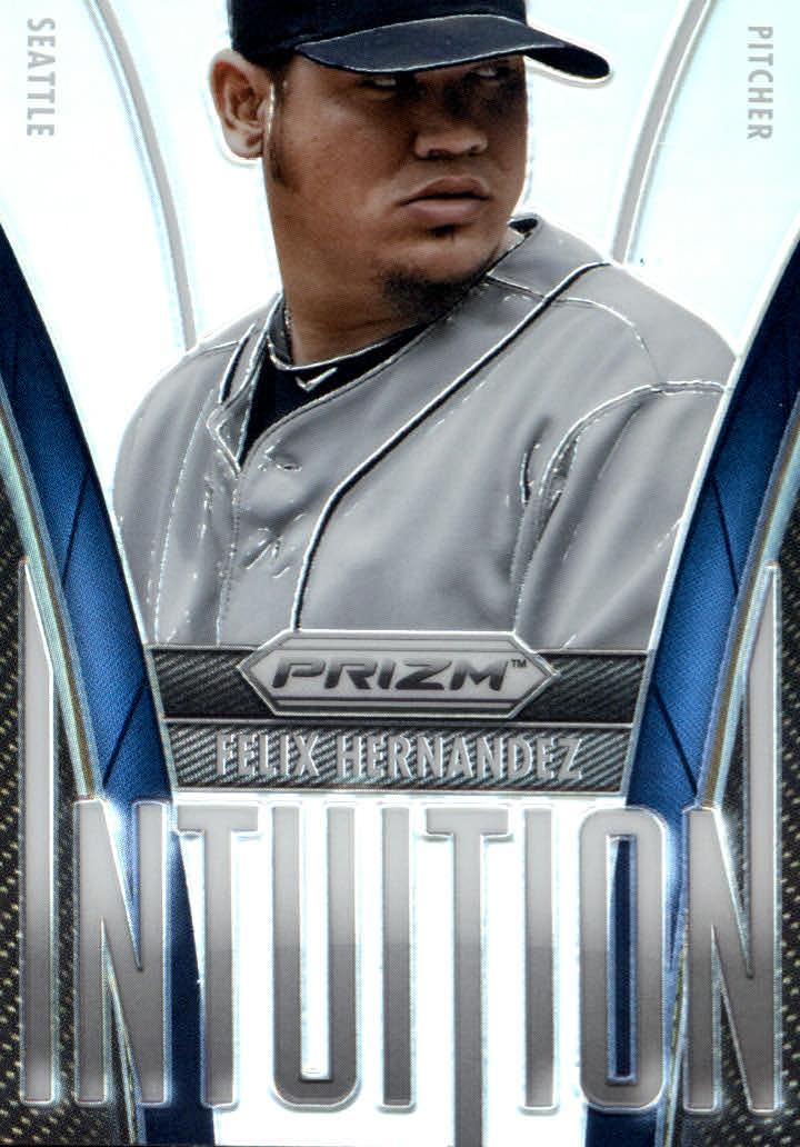 2014 Panini Prizm Intuition Prizms #12 Felix Hernandez
