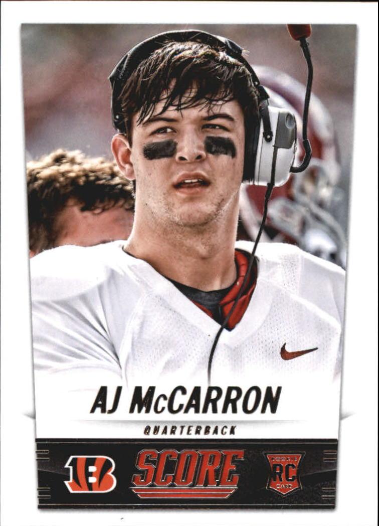 2014 Score #331 A.J. McCarron RC