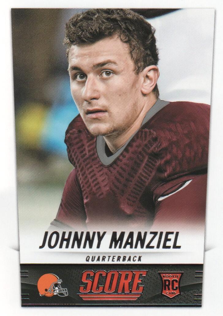 2014 Score #387 Johnny Manziel RC
