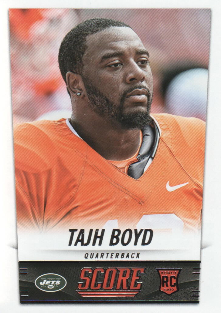 2014 Score #424 Tajh Boyd RC
