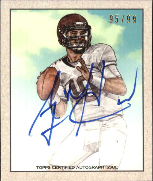 2014 Bowman '50 Bowman Mini Autographs #43 A.J. McCarron