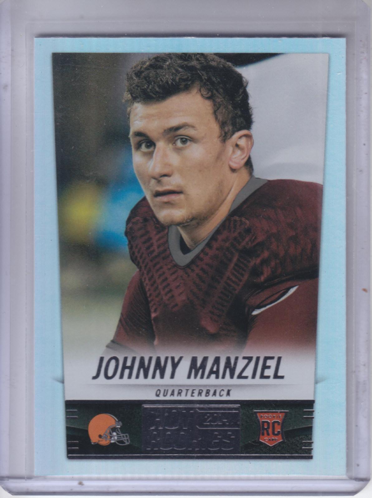 2014 Panini Hot Rookies #387 Johnny Manziel RC