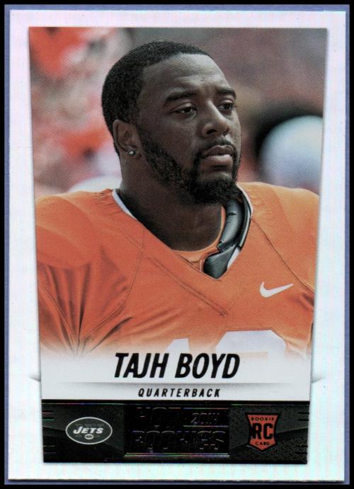 2014 Panini Hot Rookies #424 Tajh Boyd RC