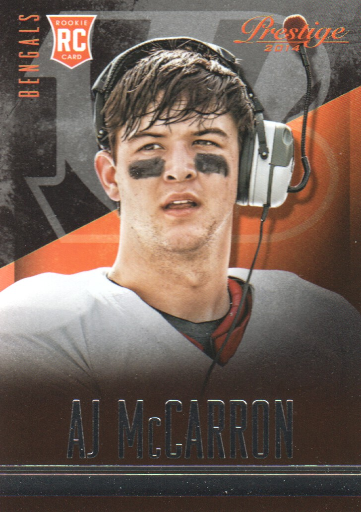 2014 Prestige #201 A.J. McCarron RC