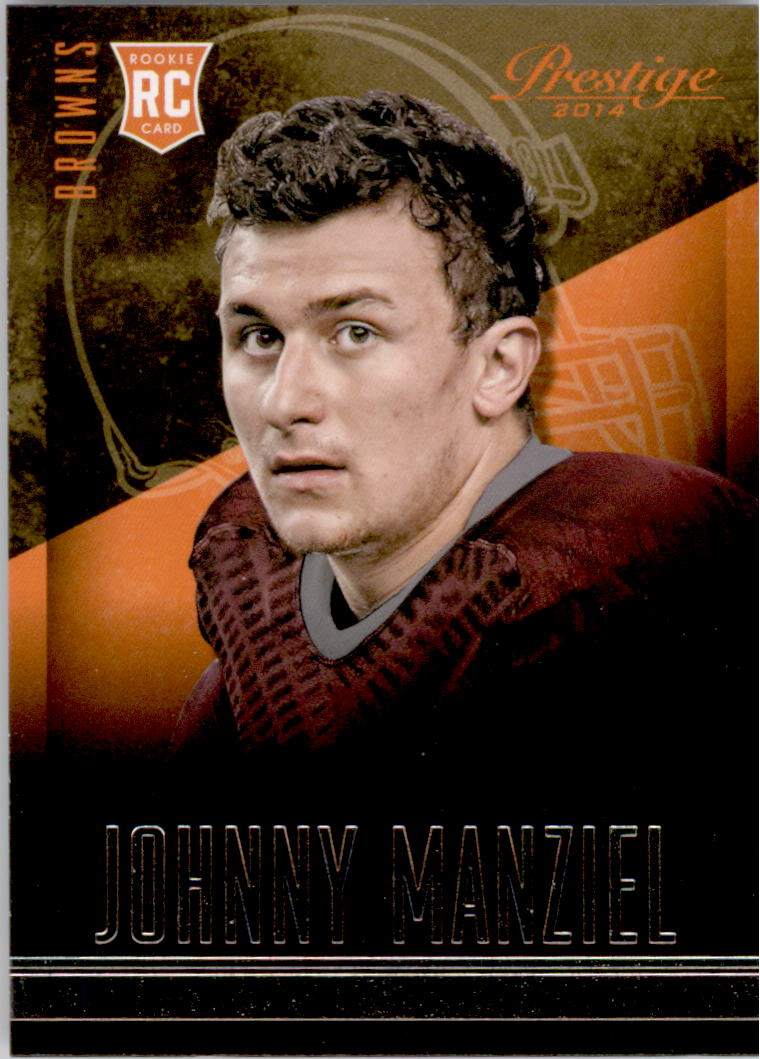 2014 Prestige #253A Johnny Manziel RC