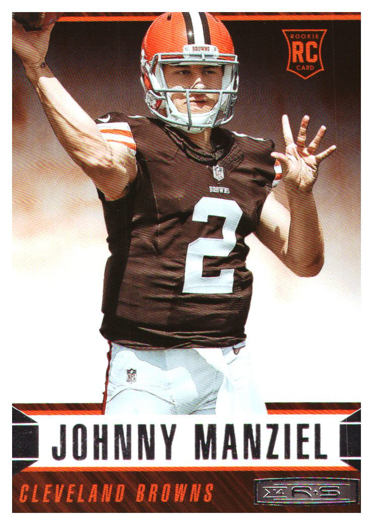 2014 Rookies and Stars #153A Johnny Manziel RC