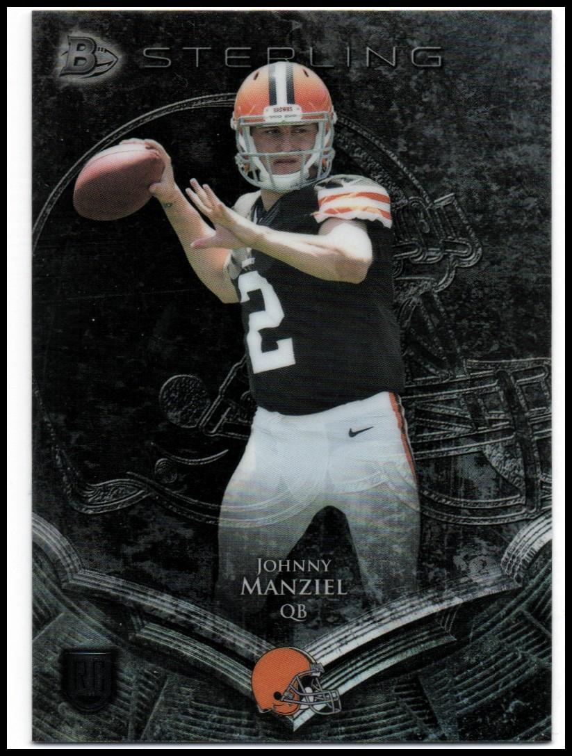 2014 Bowman Sterling #4 Johnny Manziel RC