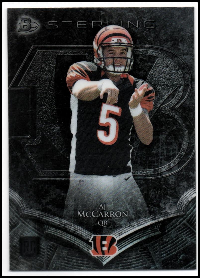 2014 Bowman Sterling #54 A.J. McCarron RC