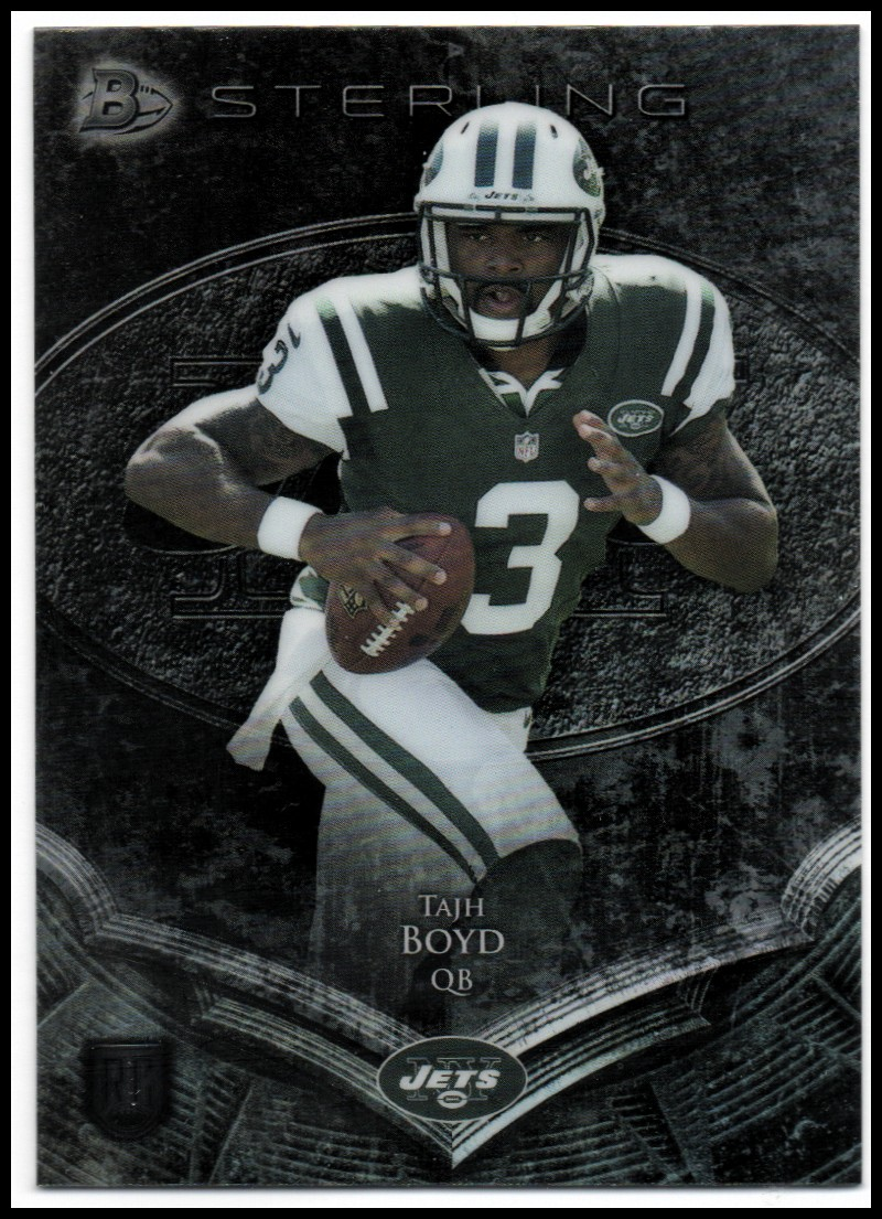 2014 Bowman Sterling #66 Tajh Boyd RC