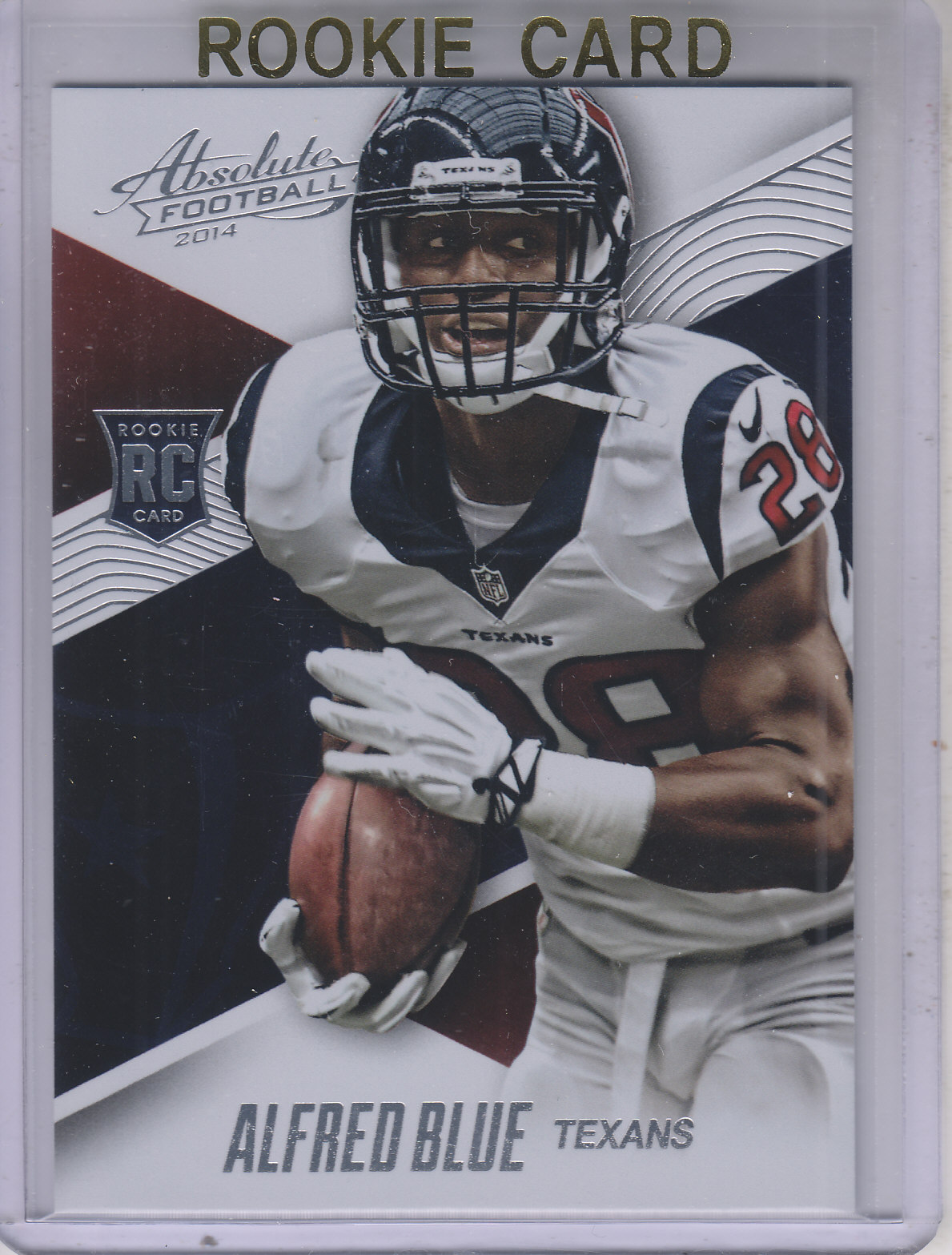 2014 Absolute #103 Alfred Blue RC