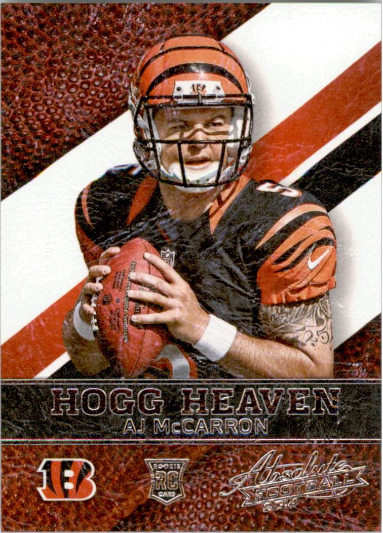 2014 Absolute Hogg Heaven #14 A.J. McCarron