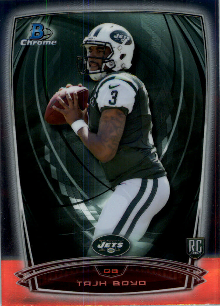 2014 Bowman Chrome #132A Tajh Boyd RC