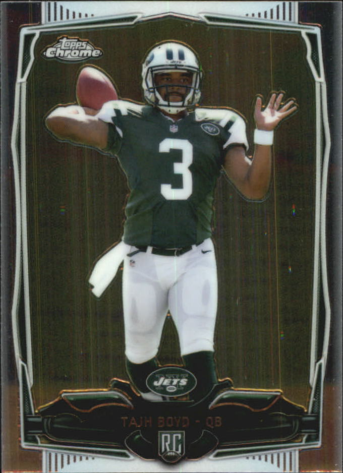 2014 Topps Chrome Mini #141A Tajh Boyd RC