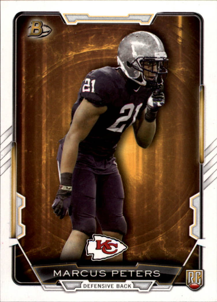 2015 Bowman #R1 Marcus Peters RC