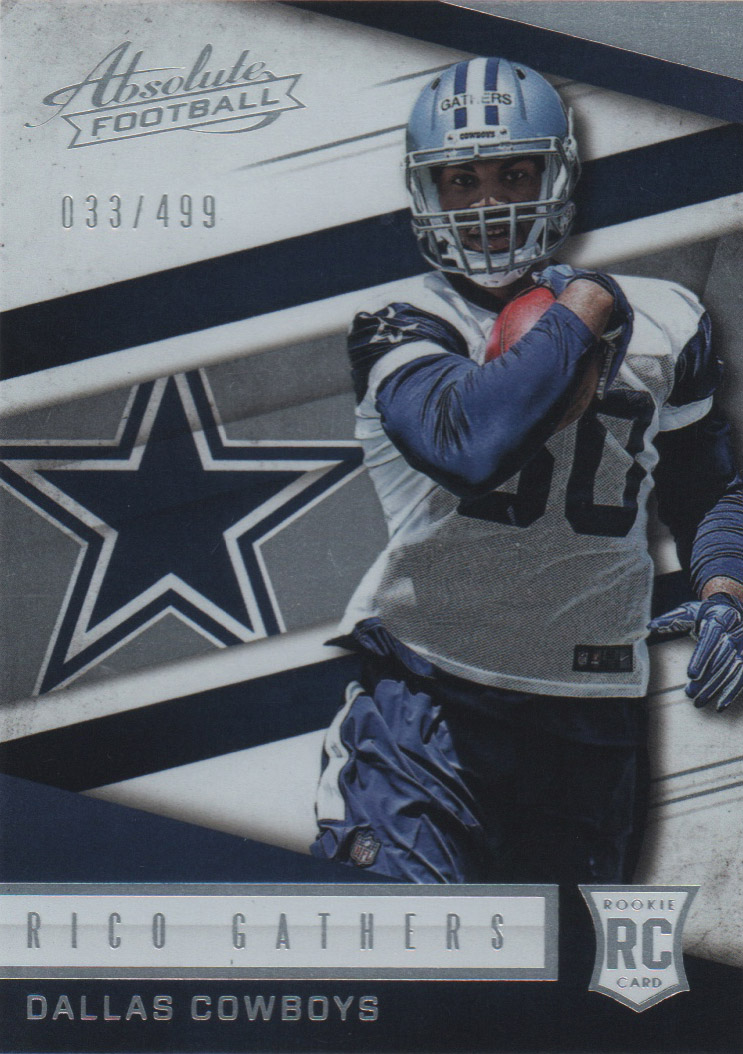2016 Absolute #165 Rico Gathers RC