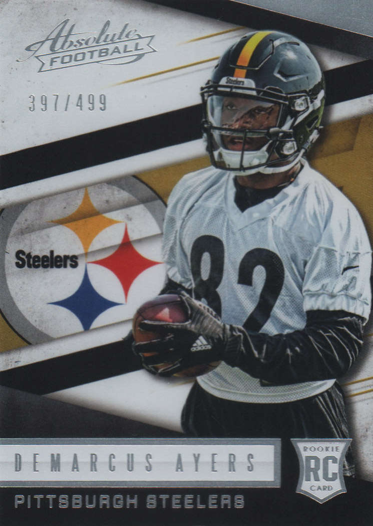 2016 Absolute #170 Demarcus Ayers RC