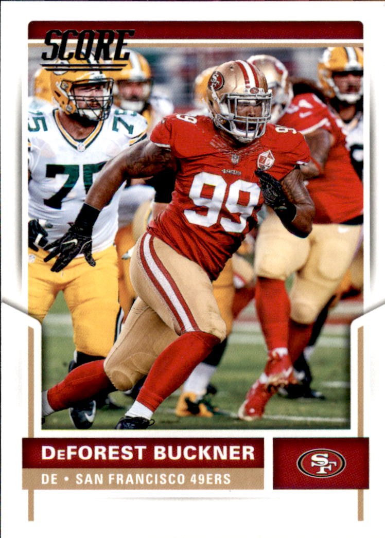 075341d6d2c 2017 Score Football Card  185 DeForest Buckner