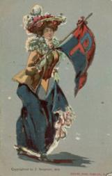 1905 Bergman College Postcards #3 Pennsylvania
