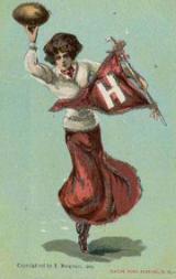1905 Bergman College Postcards #2 Harvard