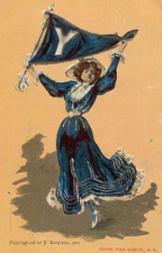 1905 Bergman College Postcards #5 Yale