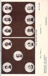 1905 Dominoe Postcards #1 Brown/W. Adams/M.S Curtis/A.K. Westervelt/A.J. Kirley/F. Dennie/Schwartz/E.W. Weikert/Conklin/A.M. Fletcher/N.F. MacGregor/G.A. Russ